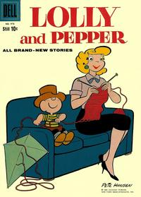 Cover Thumbnail for Four Color (Dell, 1942 series) #978 - Lolly and Pepper
