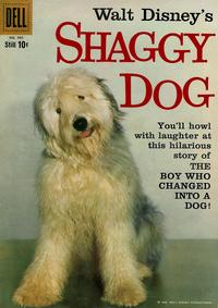 Cover for Four Color (Dell, 1942 series) #985 - Walt Disney's Shaggy Dog