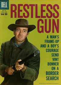 Cover for Four Color (Dell, 1942 series) #986 - Restless Gun