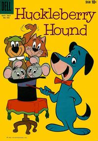 Cover Thumbnail for Four Color (Dell, 1942 series) #990 - Huckleberry Hound