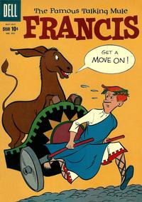 Cover Thumbnail for Four Color (Dell, 1942 series) #991 - Francis, The Famous Talking Mule