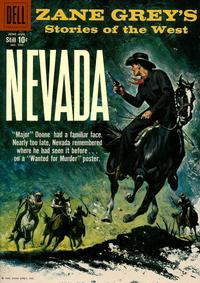 Cover for Four Color (Dell, 1942 series) #996 - Zane Grey's Stories of the West