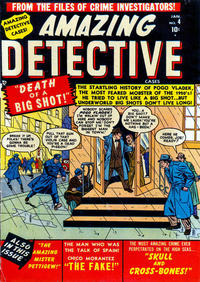 Cover Thumbnail for Amazing Detective Cases (Marvel, 1950 series) #4