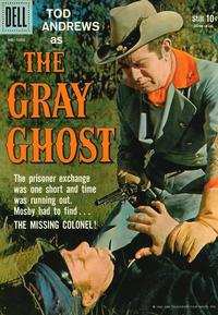Cover Thumbnail for Four Color (Dell, 1942 series) #1000 - The Gray Ghost