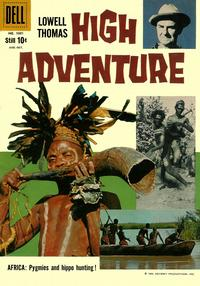 Cover Thumbnail for Four Color (Dell, 1942 series) #1001 - High Adventure