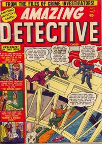 Cover Thumbnail for Amazing Detective Cases (Marvel, 1950 series) #7