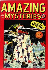Cover Thumbnail for Amazing Mysteries (Marvel, 1949 series) #32