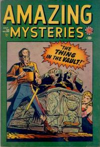Cover Thumbnail for Amazing Mysteries (Marvel, 1949 series) #33