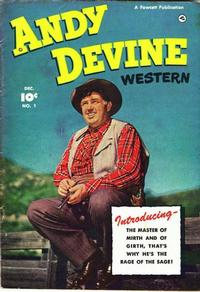 Cover Thumbnail for Andy Devine [Andy Devine Western] (Fawcett, 1950 series) #1