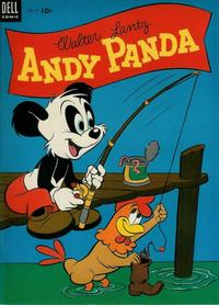 Cover Thumbnail for Walter Lantz Andy Panda (Dell, 1952 series) #21