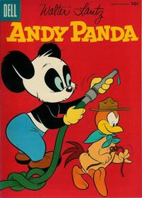 Cover for Walter Lantz Andy Panda (Dell, 1952 series) #35