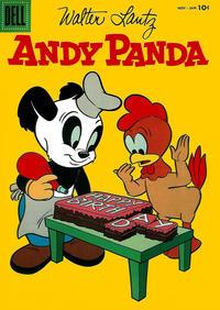 Cover Thumbnail for Walter Lantz Andy Panda (Dell, 1952 series) #36