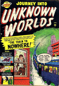 Cover Thumbnail for Journey into Unknown Worlds (Marvel, 1951 series) #4