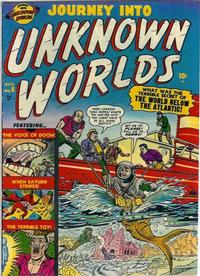 Cover Thumbnail for Journey into Unknown Worlds (Marvel, 1951 series) #6