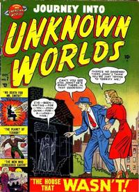 Cover Thumbnail for Journey into Unknown Worlds (Marvel, 1951 series) #7