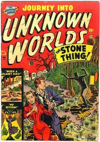 Cover Thumbnail for Journey into Unknown Worlds (Marvel, 1951 series) #8