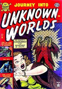 Cover Thumbnail for Journey into Unknown Worlds (Marvel, 1951 series) #14