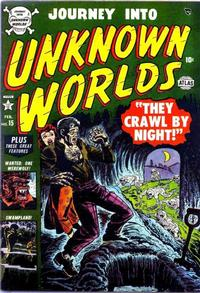 Cover Thumbnail for Journey into Unknown Worlds (Marvel, 1951 series) #15