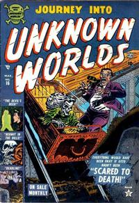 Cover Thumbnail for Journey into Unknown Worlds (Marvel, 1951 series) #16