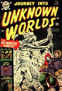 Cover Thumbnail for Journey into Unknown Worlds (Marvel, 1951 series) #17