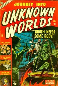Cover Thumbnail for Journey into Unknown Worlds (Marvel, 1951 series) #18
