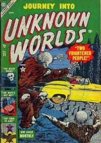 Cover Thumbnail for Journey into Unknown Worlds (Marvel, 1951 series) #22