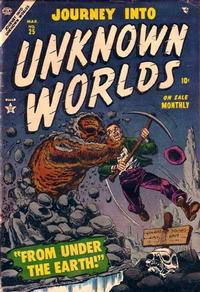 Cover Thumbnail for Journey into Unknown Worlds (Marvel, 1951 series) #25