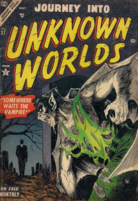 Cover Thumbnail for Journey into Unknown Worlds (Marvel, 1951 series) #27