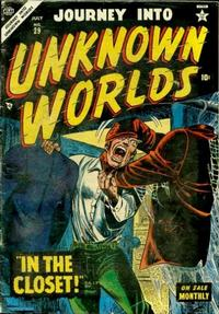 Cover Thumbnail for Journey into Unknown Worlds (Marvel, 1951 series) #29