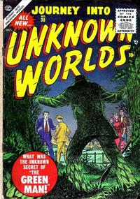 Cover for Journey into Unknown Worlds (Marvel, 1951 series) #38