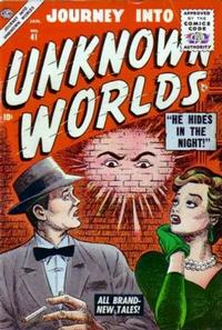 Cover Thumbnail for Journey into Unknown Worlds (Marvel, 1951 series) #41