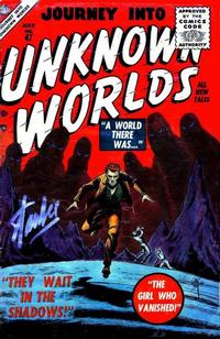 Cover Thumbnail for Journey into Unknown Worlds (Marvel, 1951 series) #47