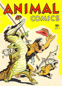 Cover Thumbnail for Animal Comics (Dell, 1942 series) #1