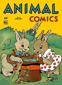 Cover Thumbnail for Animal Comics (Dell, 1942 series) #8