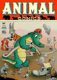 Cover Thumbnail for Animal Comics (Dell, 1942 series) #10