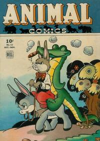 Cover Thumbnail for Animal Comics (Dell, 1942 series) #11