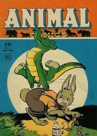 Cover Thumbnail for Animal Comics (Dell, 1942 series) #13