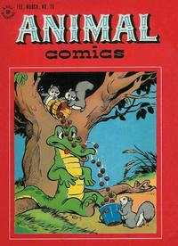 Cover Thumbnail for Animal Comics (Dell, 1942 series) #19