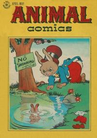 Cover Thumbnail for Animal Comics (Dell, 1942 series) #20
