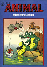 Cover Thumbnail for Animal Comics (Dell, 1942 series) #21