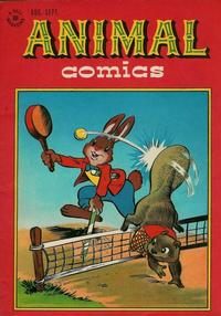 Cover Thumbnail for Animal Comics (Dell, 1942 series) #22