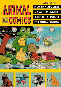 Cover Thumbnail for Animal Comics (Dell, 1942 series) #26