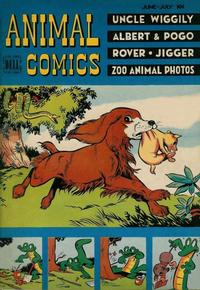 Cover Thumbnail for Animal Comics (Dell, 1942 series) #27