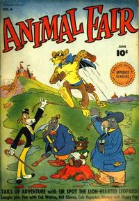 Cover Thumbnail for Animal Fair (Fawcett, 1946 series) #4