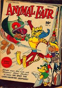 Cover Thumbnail for Animal Fair (Fawcett, 1946 series) #11