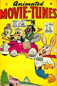 Cover Thumbnail for Animated Movie Tunes (Marvel, 1945 series) #1
