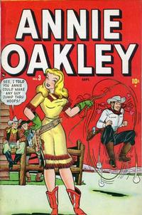 Cover Thumbnail for Annie Oakley (Marvel, 1948 series) #3