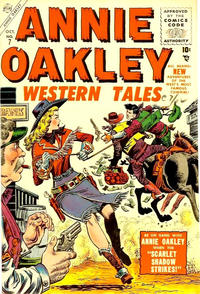 Cover Thumbnail for Annie Oakley (Marvel, 1955 series) #7