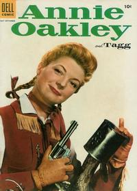 Cover Thumbnail for Annie Oakley and Tagg (Dell, 1955 series) #4
