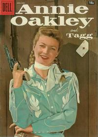 Cover Thumbnail for Annie Oakley and Tagg (Dell, 1955 series) #11